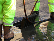 blocked drains Belfast wide being cleared